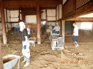 ボランティア活動写真⑦石像寺